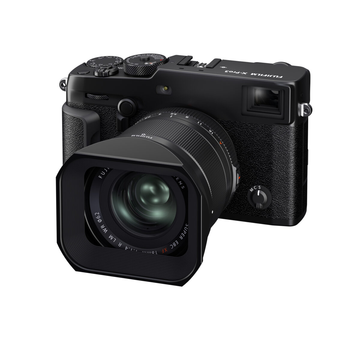 Das Fujinon XF 18mm f/1.4 R LM WR mit Gegenlichtblende LH-XF18 an einer Fujifilm X Pro3