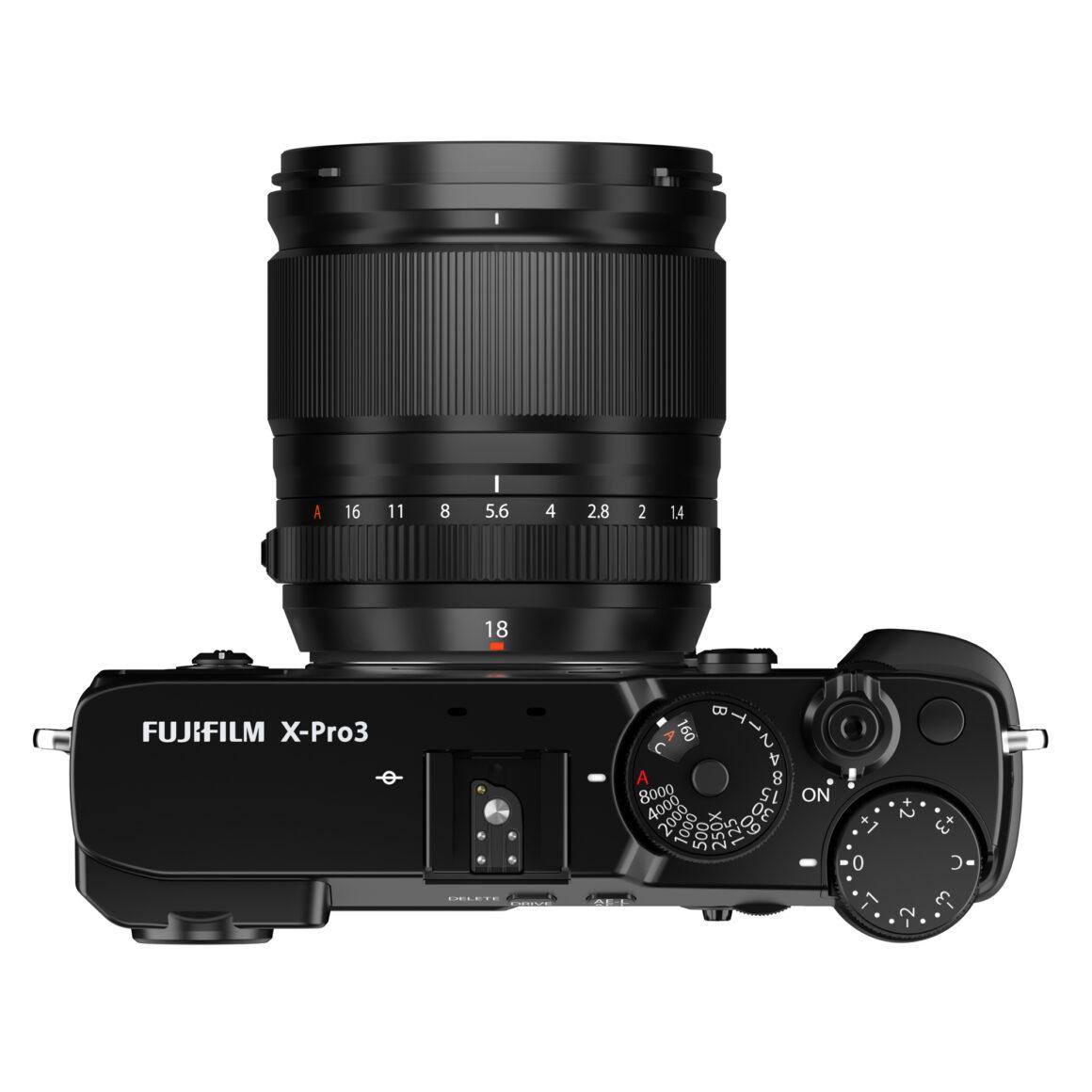 Das Fujinon XF 18mm f/1.4 R LM WR an einer Fujifilm X Pro3